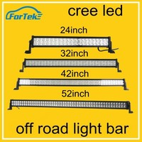 Cheap curved led bar light cree offroad led light bar 300W 240W 180W 120W straight light bar