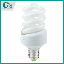 cfl spiral glass tube full Spiral CE ROHS fluorescent lamp