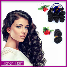 Cheap top quality natural 100% human virgin remy loose weave russian hair extensions
