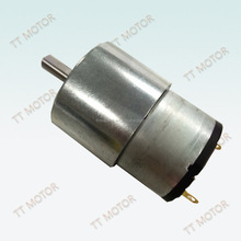 reduction gear box motor for bank equipment 37mm