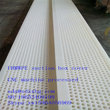 UHMWPE plastic Forming board trailing blade / forming board covers
