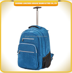 outdoor sports trolley backpack for men, women, children school backpack with detachable trolley and wheels backpack