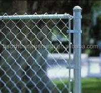 hot-dip galvanized used used 6foot chain link fence with best quality (direct factory)