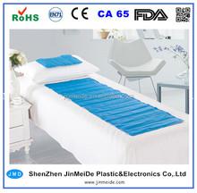 Gel Massage Cushion Mat for Bed / Cool Gel Mattress Pad in Retail