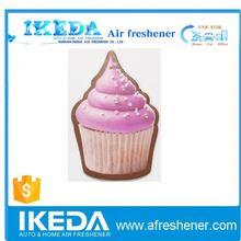 2014 hot sale nice design car paper air freshener