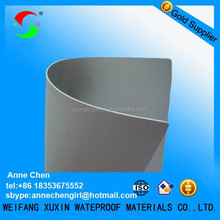 Reinforced PVC waterproofing membrane for building materials