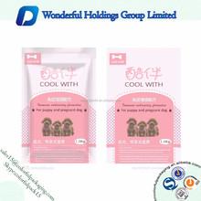 Custom Printed Plastic Bags Ziplock Food Grade Resealable Packaging Bags for Cat/Dog