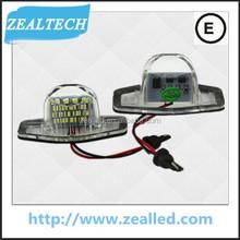 LED light for Honda JAZZ LED license plate Light for Honda auto light with high quality