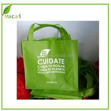 personalize green non-woven market bag