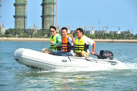 pontoon fishing boat sport fish boats inflatable china 380