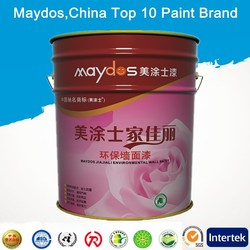 exterior walls stain resistance elastic emulsion paint Wall covering