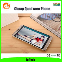 OME China brand android phone 5.0 inch big screen quad core Android 3G OEM Smartphone