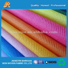 100% recycle material polypropylene spun bond non woven fabric for shopping bag