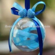 Clear Hollow Decorative Balls