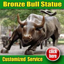 Hot Selling bronze bull chicago Customized Service is Available