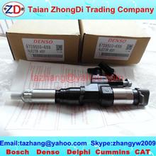 DENSO common rail injector 095000-6593, HINO fuel injector J08E 23670-E0010