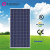 Easy to use poly 280w solar panels with full certificate