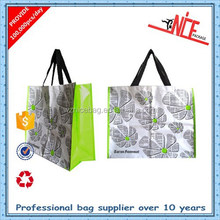 OEM factory fashional good quality and cheap price pp woven shopping tote bag