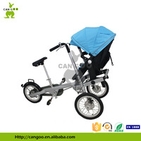Three Wheel Aluminum High Quality Cargo Tricycle Babies Carriage Bike
