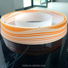 2015 Hot Selling New Style Wood Grain Bright Color Lamp Shade
