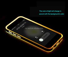 Fashion Calling Sense Color Change Flash Light Hard skin for iphone