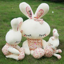 2014 baratos mini de color rosa juguete conejo de felpa