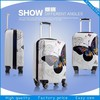 2014 popular fashion 3pcs travel luggage,trolley bag,suitcase wholesale