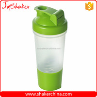 500ML Protein Plastic Shake Bottle with Bottom Compartment
