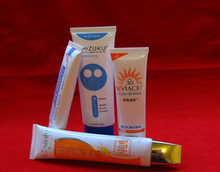 Colorful High Class Personal Care Hand Cream Plastic Aluminum Soft Tube With Screw Cap And Flip Top Cap,BB Cream Packaging Tube