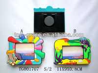 2014 new product soft pvc photo frame