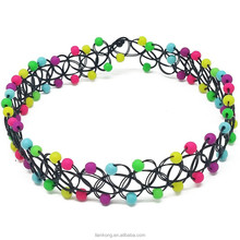 Hot selling fashion stretch elastic tattoo choker necklace