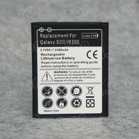High Capacity Li-ion Rechargeable Mobile Phone Battery For Samsung Galaxy S3 I9300