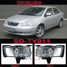 toyota corolla 2005 fog lights led lamps
