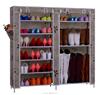 Custom made rack/ canvas good display shoe rack/ adjustable double shoe rack