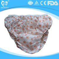 Disposable sanitary panties, one time use panty
