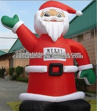 20ft christmas inflatable santa,large inflatable santa claus
