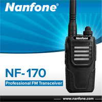 Nanfone NF-170 FCC Mini FM UHF Handy Walky Talky with Antenna