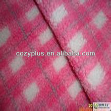2013 china new designer Cheapest polyester sherpa direct printing mercerized velvet