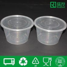 PP Disposable plastic food packaging 800ml