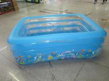 PVC children cartoon swim pool high quality children inflatable swimming pool for water sport 1603-35