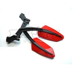 BJ-RM-049 Hot sale universal plastic hosing acrylic glass mirror motorcycle