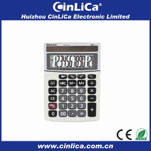 12 digit dual power electronic calculator download lcd display JS-272LA