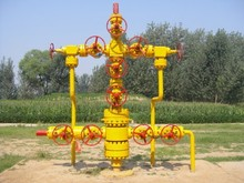 Well cementation tool gas well Christmas tree