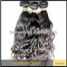2014 Soaring Hair raw 100% Unprocessed Virgin Brazilian Remy French Curly Hair