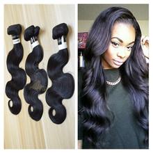 Natural black India remy 100% human hair extensions raw indian hair