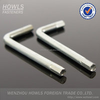 hex key screw drivers L handle wrench L lever tire wrench L/Z sharp socket wrench