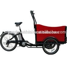 three wheel cargobike / box tricycle bike/Cargo Cycle Truck 6 Speed