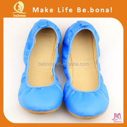 2015 new fashion comfortable foldable Shoes For ladies