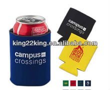customized reusable beer can holder foam
