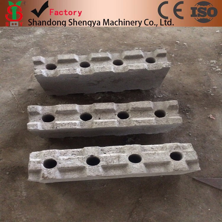 Light weight foam concrete block making mould manual form for Foam concrete forms for sale